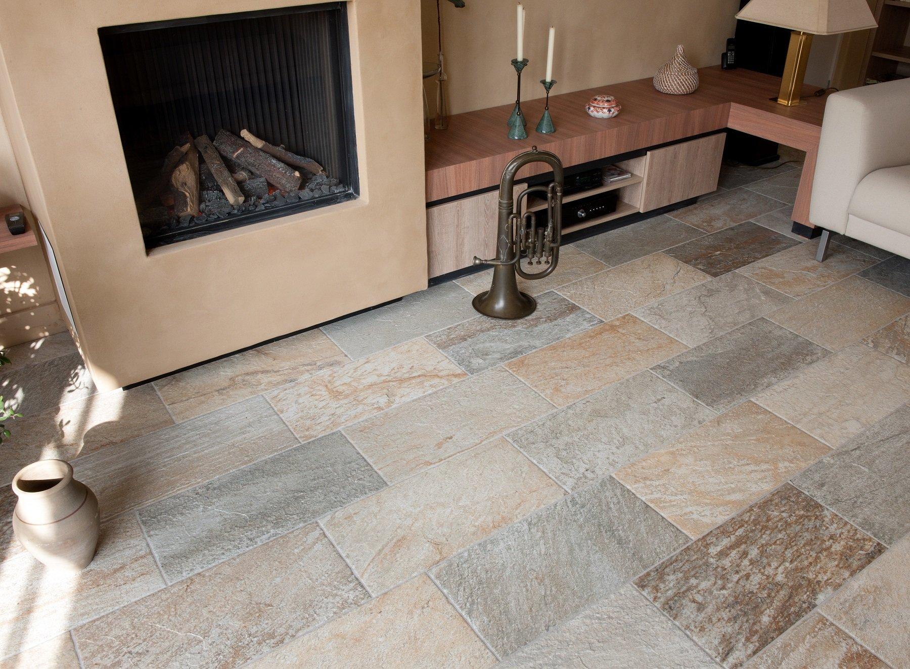 Lichte Plavuizen Vloer : Vloertegels woonkamer kroon vloeren in steen